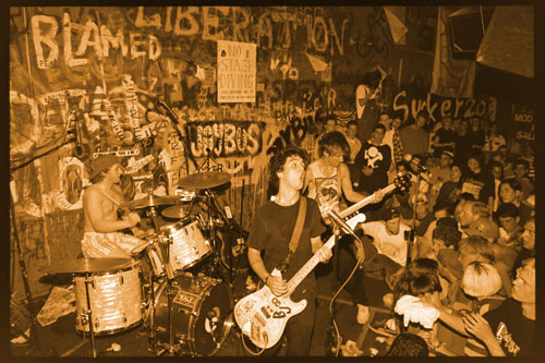 Green Day At Gilman 1992  – Photo by Murray Bowles