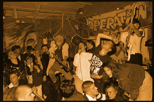 Operation Ivy At Gilman, 1988 – Photo by Murray Bowles
